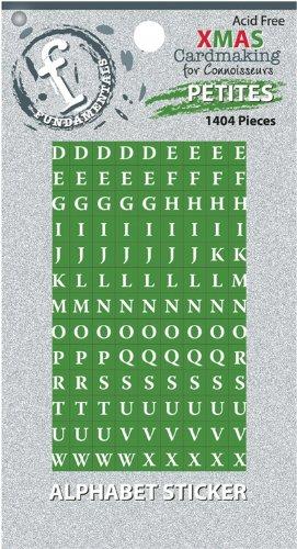 - Fundamentals Petites Alphabet Stickers .25