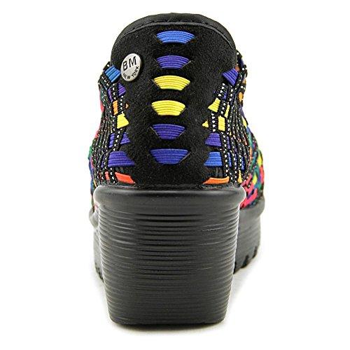 Bernie Mev. Hallie Women Us 8 Sandalo Con Zeppa Multicolor