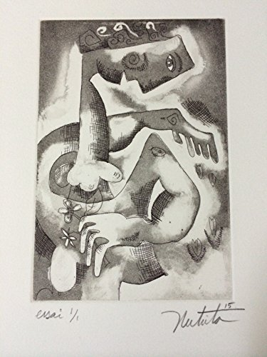 RARE 1/1 Alexandra Nechita Original Hand Signed Etching Limited Edition COA