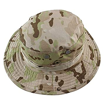 2cef1d8c3d03f Bingo Point Tactical Airsoft Sniper Camouflage Boonie Hats Nepalese Cap  Militares Army Mens Military Hiking Hats Summer Bucket Fishing Hat   Amazon.ca  Home ...