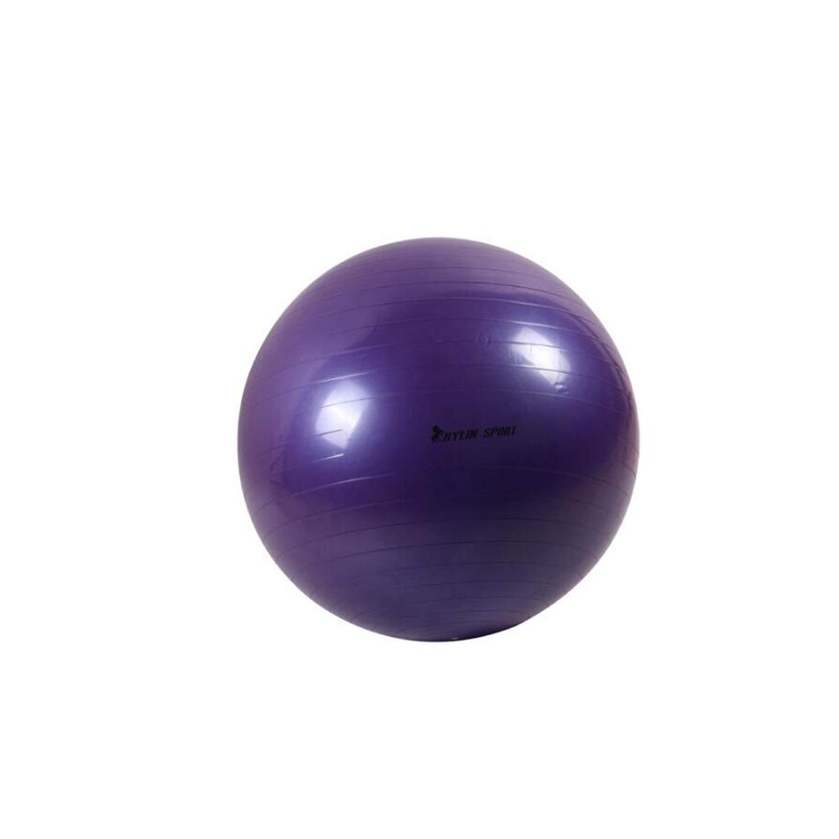 XIONGHAIZI Fitness Ball, Big Yoga Ball, Explosion-Proof Yoga Ball, air Pumping Gas Blue Diameter 85 cm, 75cm, 65cm Exercise, (Color : Purple, Size : 85 cm) by XIONGHAIZI