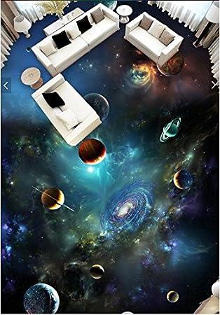 Wongxl Autoadhesivo Personalizado 3D Para El Cosmic Estrellas ...