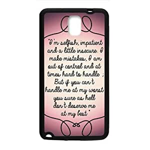 Artistic note Cell Phone Case for Samsung Galaxy Note3