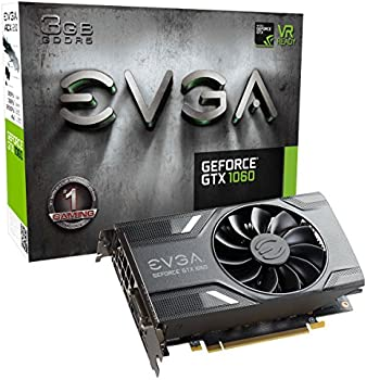 EVGA GeForce GTX 1060 3GB GDDR5 Gaming Graphics Card