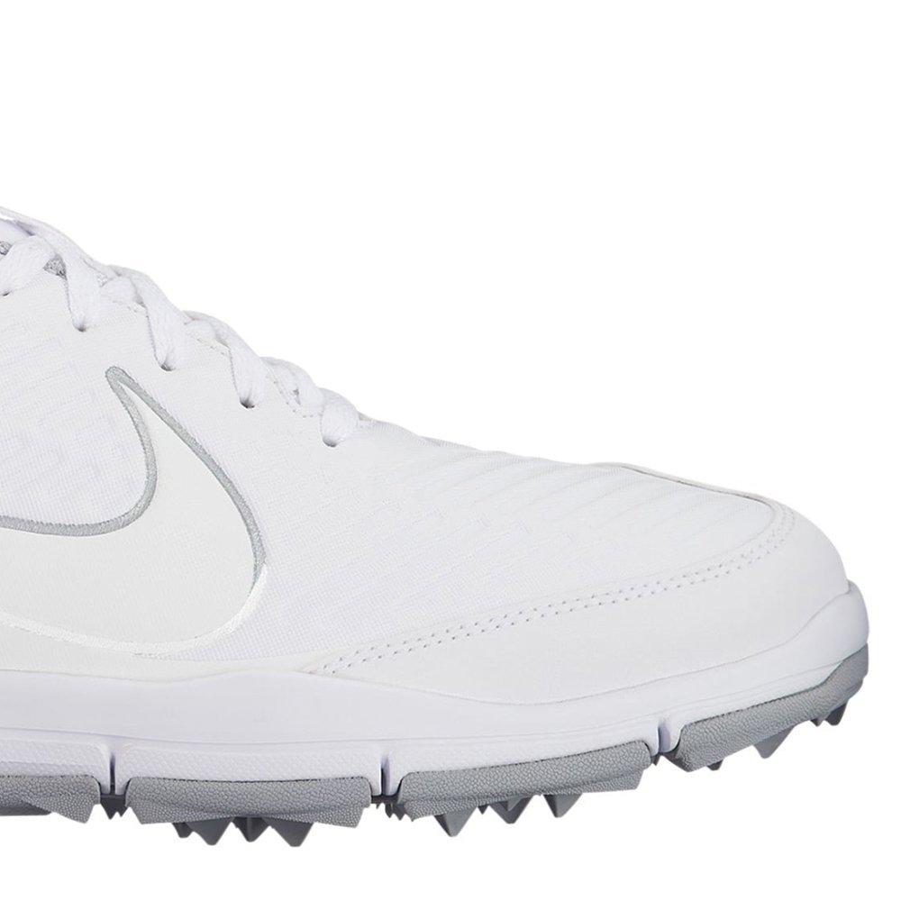 465e665362a Golfová obuv NIKE Explorer 2 stříbrná šedá pro golfisty AA1846-101  B01N4GFGPR Bílá  bílá  Wolf šedá  stříbrná metalíza df6b37d