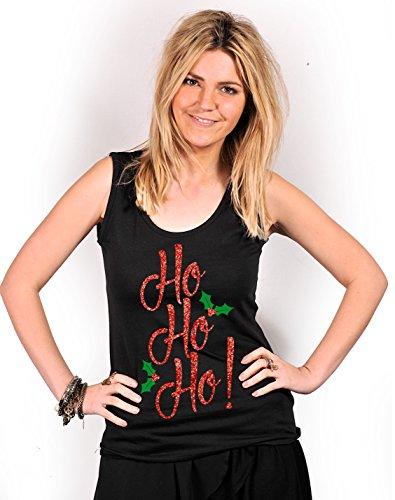 Onlineapparel - Camiseta sin mangas - para mujer negro