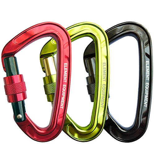 Element Equipment Tech Lite Carabiner 25kN CE0321 Hot Forged