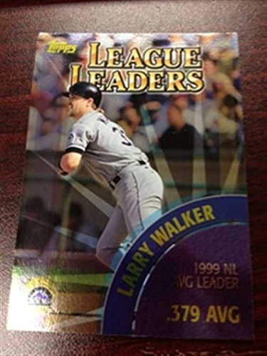 2000 Topps 461 Larry Walker Rockies Nomar Garciaparra Red Sox LL