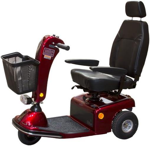 B0009RF7E8 Shoprider Sunrunner Three Wheel Personal Travel Scooter 51wiajcO5pL