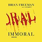 Immoral: Jonathan Stride, Book 1 | Brian Freeman