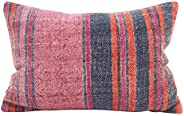 SARO LIFESTYLE Bohême Collection Boho Stripes Oblong Throw Pillow/8414.M1220B, 12""