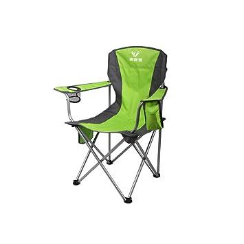 IDIZZ Camping Silla Plegable Multifuncional Portátil Camping Picnic Barbacoa Pintura Fiesta Fiesta Silla De Playa Gran