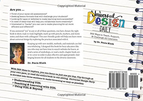 Universal Design Daily Ways To Teach Support Challenge - Universal design for learning lesson plan template