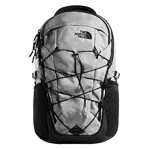 The North Face Borealis, Zinc Grey Dark Heather/TNF Black, OS (Zinc Grey North Face Backpack)