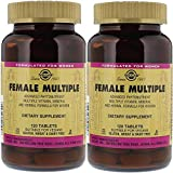 Solgar. Female Multiple-vitamin, 120 T. 2 Pack For Sale