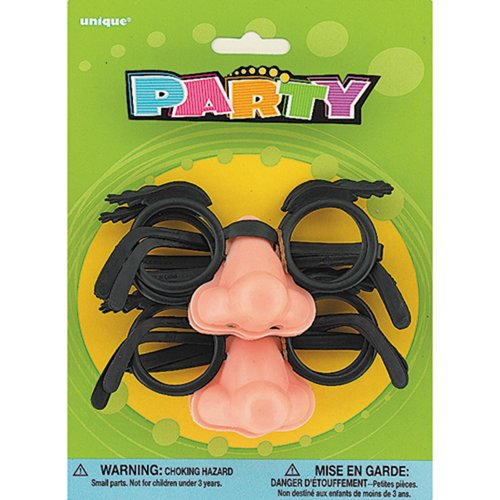 Disguise Glasses Nose Party Favors