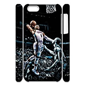 Newest Diy Russell Westbrook Apple Iphone 5C 3D Cover Case UN872662