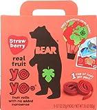 Bear Yoyo Fruit Roll Strwbry Multpk 3.5 OZ (Pack of 12)
