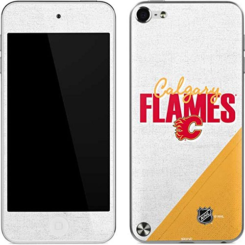 (NHL Calgary Flames iPod Touch (5th Gen&2012) Skin - Calgary Flames Script Vinyl Decal Skin For Your iPod Touch (5th Gen&2012))