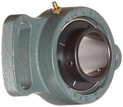 - NTN UCFA210D1 Light Duty Adjustable Flange Bearing, 2 Bolts, Setscrew Lock, Regreasable, Contact and Flinger Seals, Cast Iron, 500mm Bore, 6-3/32