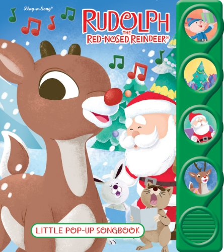 Rudolph the Red-Nosed Reindeer: Little Pop-Up Song Book (Rudolph Christmas Songs)