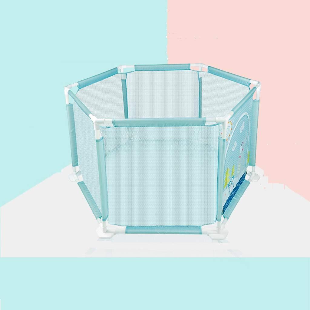 JSSFQK 赤ちゃん遊びフェンス赤ちゃんのクロールマット幼児ガードレール子供ホーム屋内フェンス 保護フェンス (サイズ さいず : 146cm×74cm×62cm) 146cm×74cm×62cm  B07MMHSSC8
