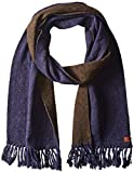 Ben Sherman Men's Micro Dot Knit Scarf, Navy Blazer, One Size