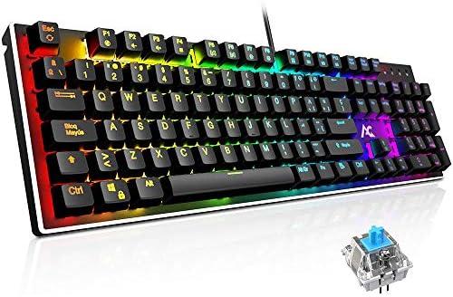 Teclado Mecánico Gaming ACGAM AG-109R 105 Teclas y ...