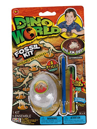 Dino World Fossil Kit With Real Tools, 1-Pack -