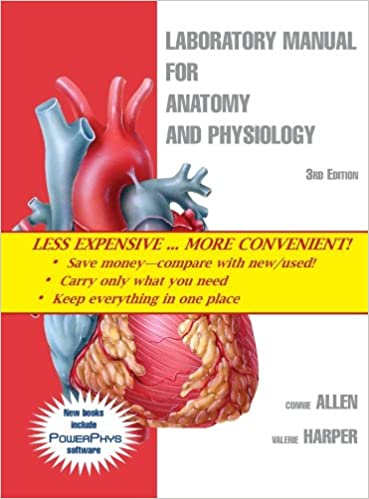 Laboratory Manual for Anatomy and Physiology 3rd Edition Binder ...
