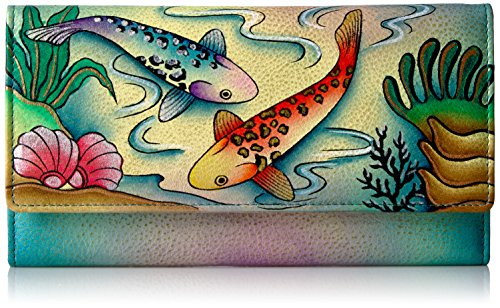 anna-by-anuschka-handpainted-leather-checkbook-wallet-clutchkoi-fish-wallet-koi-koi-fish-one-size