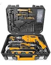 طقم شنيور مع ادوات من انجكو HKTHP11114، 111 قطعة، 13 ملم - 550 وات