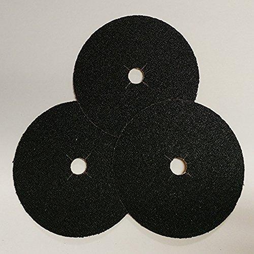 Norton Silicon Carbide Abrasive Edger Disc, 7 in x 5/16 in, 24 Grit 50 (Norton Floor Sanding Edger Disc)