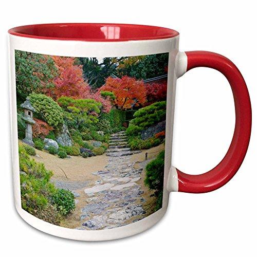 Rob Okochi Sanso Kyoto Japan - 3dRose Danita Delimont - Gardens - Japan, Kyoto, Arashiyama, Garden, Okochi Sanso Villa - AS15 RTI0759 - Rob Tilley - 15oz Two-Tone Red Mug (mug_132743_10)