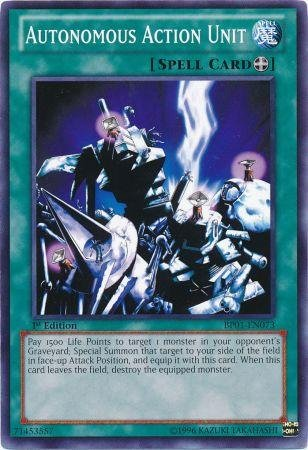 Autonomous Action Unit - Yu-Gi-Oh! - Autonomous Action Unit (BP01-EN073) - Battle Pack: Epic Dawn - 1st Edition - Common