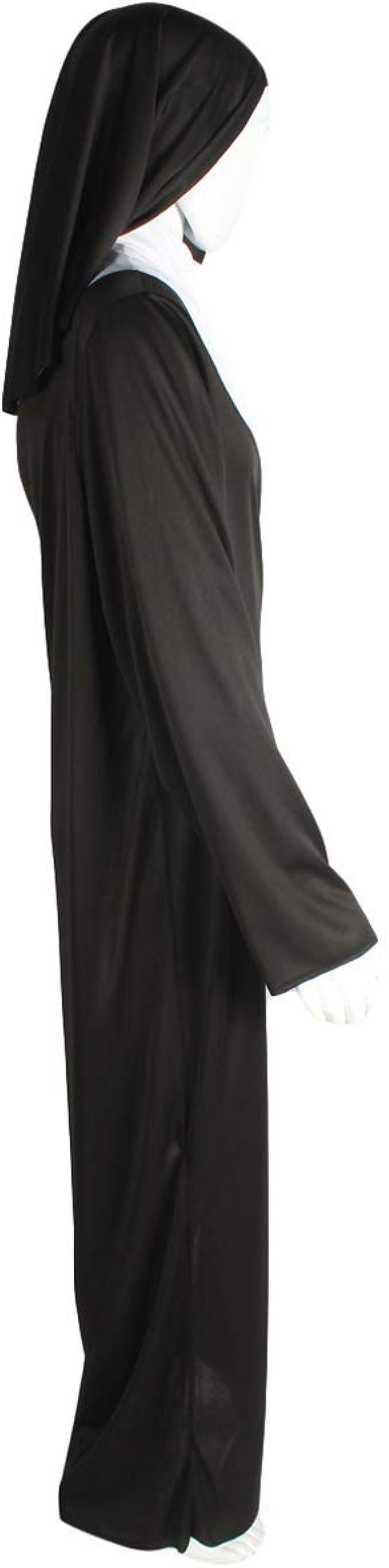 Adult Men Nun Outfit Costume Multi Color HC-1472