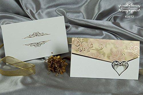 Cristalpainting Hochzeitseinladungskarten Einladung