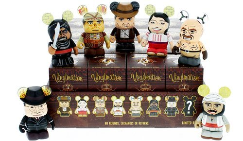 Indiana Jones Series 1 ONE UNOPENED Mystery Box Disney Vinylmation 3