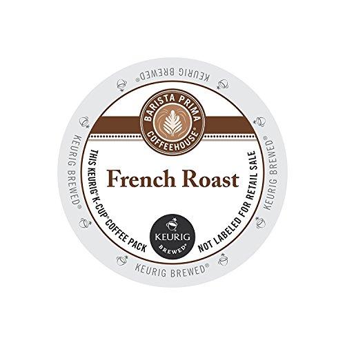 Barista Prima Coffee House French Roast Darkest Roast Coffee 24 K-Cups 96 count
