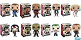 POP Movies: Suicide Squad - Joker Shirtless,Rick Flagg, Killer Croc, Katana, Deadshot, El Diablo, Harley Quinn, Boomerang! Vinyl Figures Set of 8