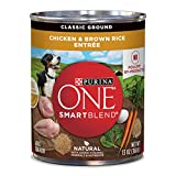 Purina ONE Natural Pate Wet Dog Food, SmartBlend C...