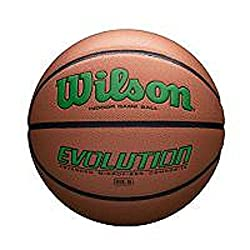 Wilson Wtb0595xb0601 Evolution Size Game Basketball-green, Brown, Intermediate