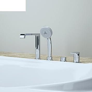Badezimmer Kupfer heißen und kalten Wasserhahn/seitlich montierte ...