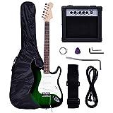 Full Size Guitar Electric Package Beginner Amp 10 Watt New Starter Picks Pack Accessories