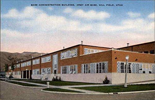 Base Administration Building, Army Air Base Hill Field, Utah Original Vintage - Hill Utah Field