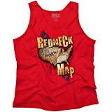 Southern Territory Map Redneck Funny Southern Dixie Humor Tee Tank Top Shirt