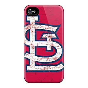 Scratch Protection Hard Phone Cases For Iphone 6 (BWt1257vBxC) Allow Personal Design Beautiful St. Louis Cardinals Series