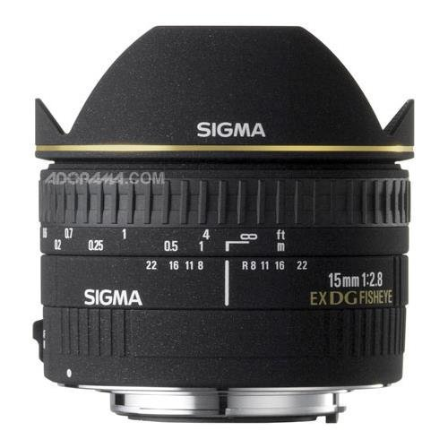 Used, Sigma 15mm f/2.8 EX DG Diagonal Fisheye Lens for Nikon for sale  Delivered anywhere in USA