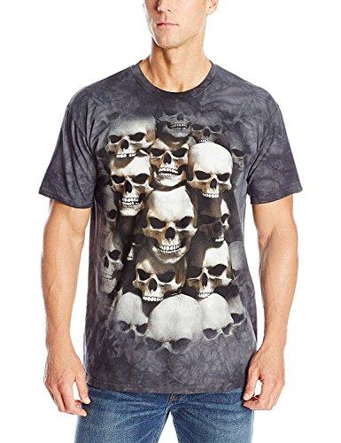 - The Mountain Men's Skull Crypt T-Shirt, Black, Small