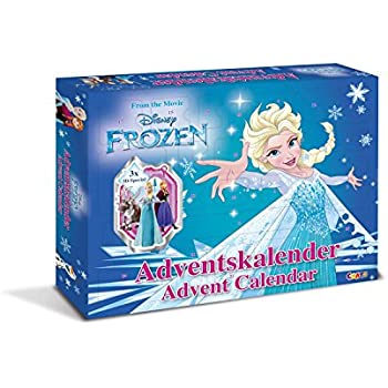 craze 13885 advent calendar disney frozen. Black Bedroom Furniture Sets. Home Design Ideas